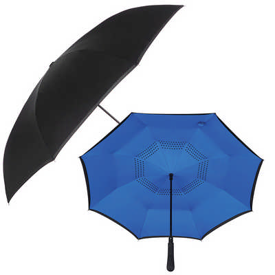 48 inch Auto Close Inversion Umbrella - Black (SB1007BK_RNG_DEC)