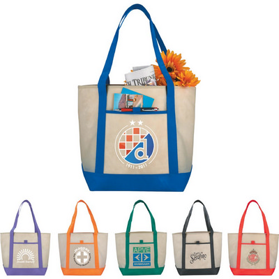 Lighthouse Non-Woven Boat Tote (SM-7333_RNG_DEC)