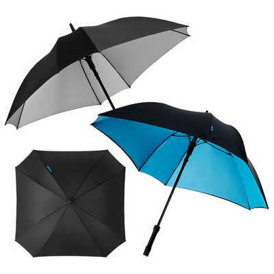 Marksman 23 inch Square Automatic Umbrella (MM1018SL_RNG_DEC)