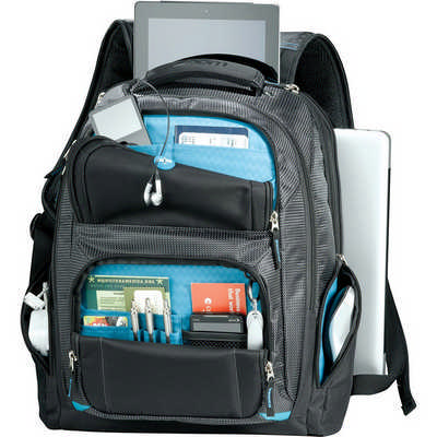 Zoom� Checkpoint-Friendly Compu-Backpack (ZM1007_RG_DEC)