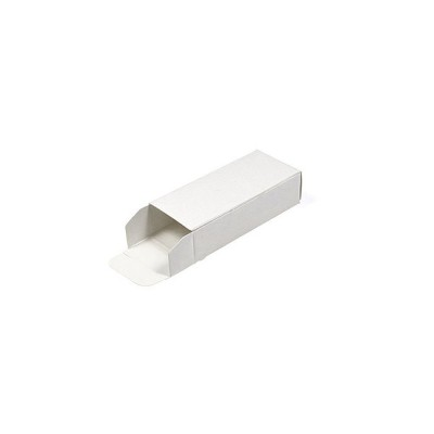 Flash Drive White Tuck Box (PVC)  (USBBox3-PVC)
