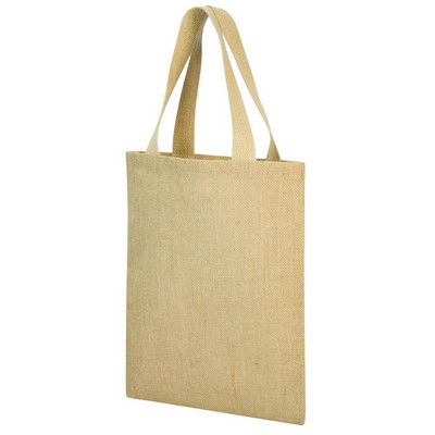 A4 jute shopper bag  (G1042_ORSO_DEC)