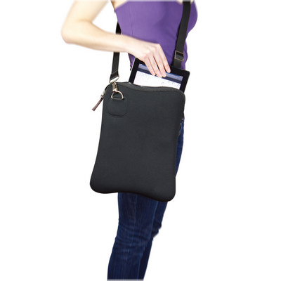Neoprene shoulder satchel  (G1451_ORSO_DEC)