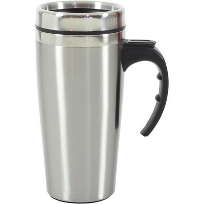 Metro Stainless Steel Thermal Mug   (G1623_ORSO_DEC)