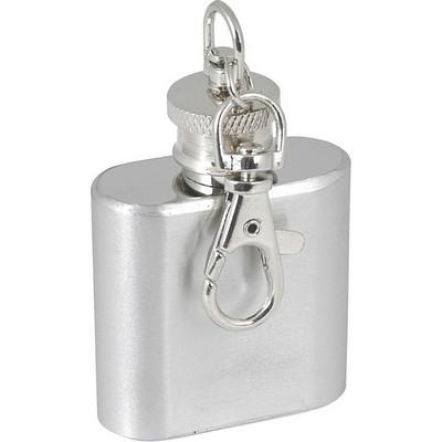 1oz Hip flask keyring  (G260_ORSO_DEC)