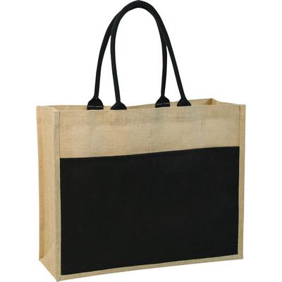 Contrast ECO jute bag  (G832_ORSO_DEC)