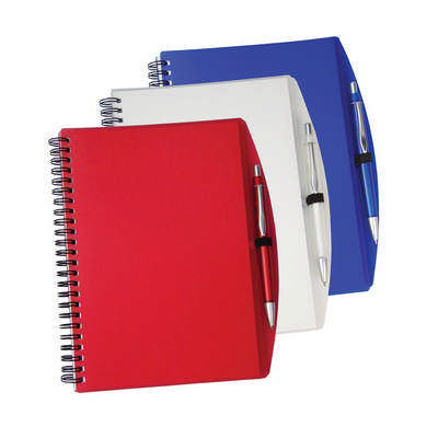Spiral notebook and pen (G1081_ORSO_DEC)