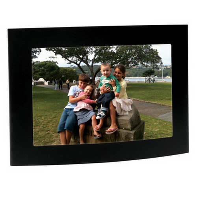 Arc matt black photo frame (G1121_ORSO_DEC)