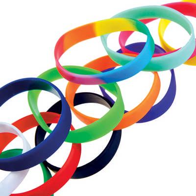 Silicon Wristbands (G1128_ORSO_DEC)