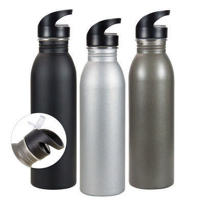 Stainless steel sipper bottle (G1200_ORSO_DEC)