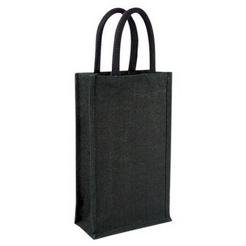 Jute wine bag - double (G1222_ORSO_DEC)