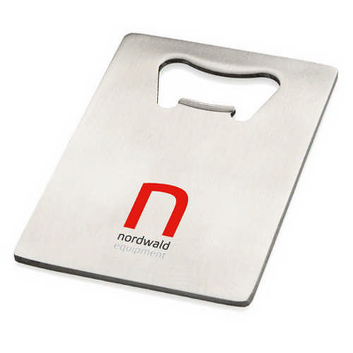 Stainless steel credit card bottle opener (G1516_ORSO_DEC)