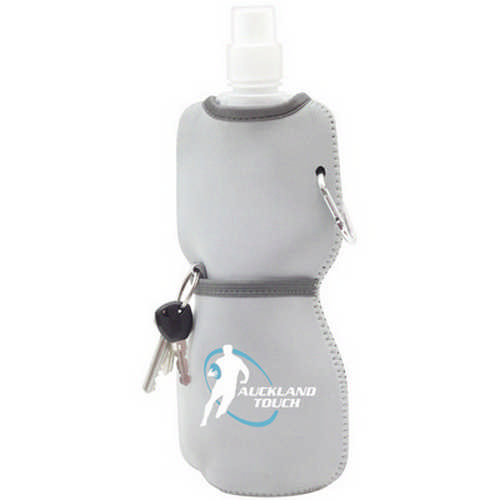Foldable bottle with neoprene sleeve (G1617_ORSO_DEC)