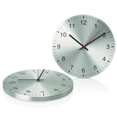 30cm Aluminium Wall Clock (C431_GL_DEC)