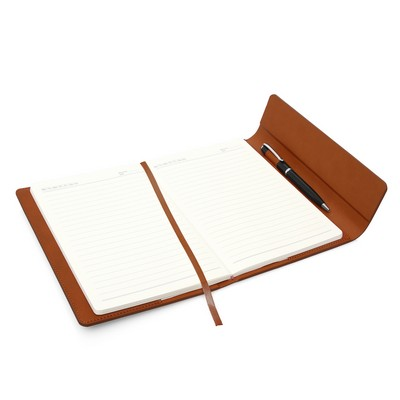 A5 Leather Look Journal with Sleeve (C490D_GL_DEC)