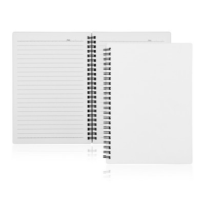 A5 80 Leaf Spiral Bound Notebook (C496B_GL_DEC)