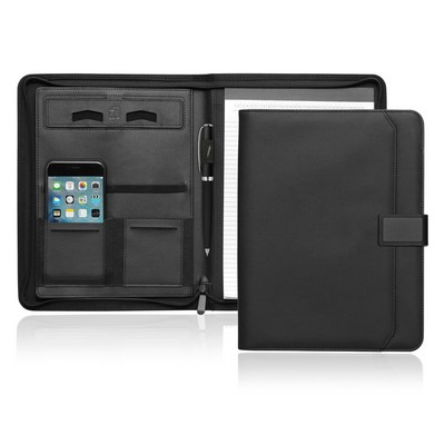 A4 Tech Folio w/Zipper and Magnetic Closure (C499_GL_DEC)