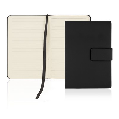 A6 128 Leaf Notebook w/Magnetic Closure (C502A_GL_DEC)