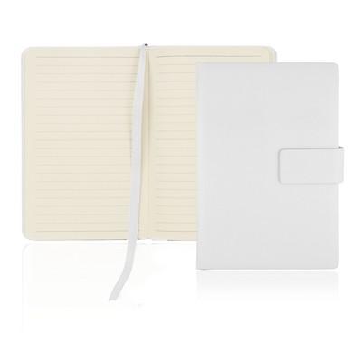 A6 128 Leaf Notebook w/Magnetic Closure (C502B_GL_DEC)