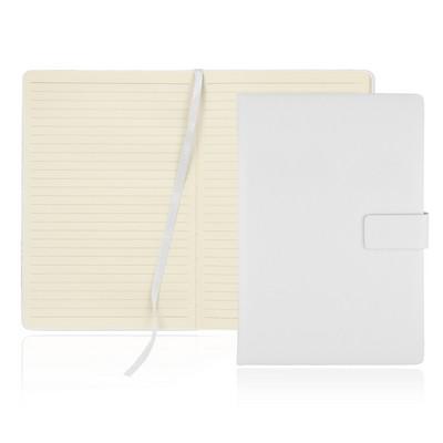 A5 128 Leaf Notebook w/Magnetic Closure (C503B_GL_DEC)