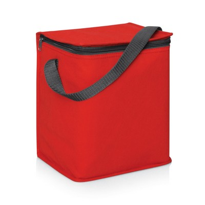 6 Bottle/12 Can Cooler Bag w/Carry Strap - 5L (L472B_GL_DEC)