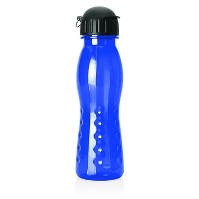 Polycarbonate Sports Bottle w/Pop Top - 600ml (M225D_GL_DEC)
