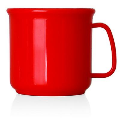 All Plastic Coffee Mug - 300ml (M231C_GL_DEC)