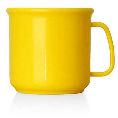 All Plastic Coffee Mug - 300ml (M231E_GL_DEC)