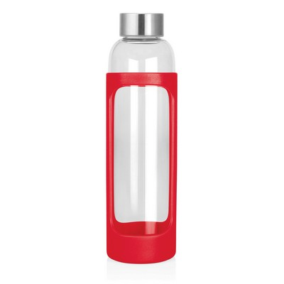 600mL Glass Drink Bottle (M259G_GL_DEC)