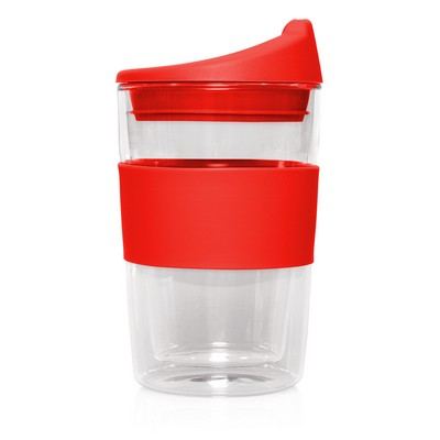 Double-walled Glass Cup 2 Go - 300mL (M266D_GL_DEC)