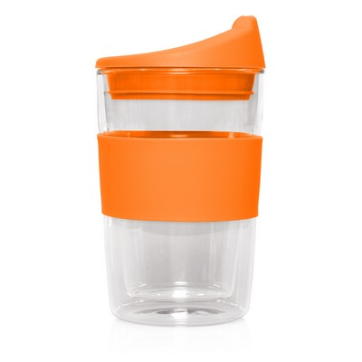 Double-walled Glass Cup 2 Go - 300mL (M266F_GL_DEC)