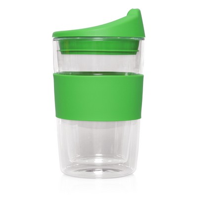 Double-walled Glass Cup 2 Go - 300mL (M266I_GL_DEC)