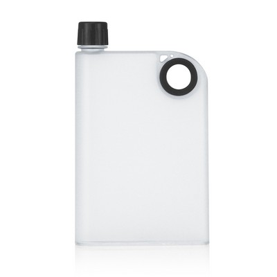 400ml Frosted Notebook Drink Bottle (M274B_GL_DEC)