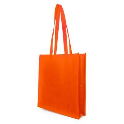 Non Woven Bag - w/gusset (NWB05-OR_GL_DEC)