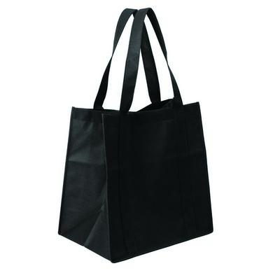 Non Woven Shopping Bag (NWB10-BK_GL_DEC)