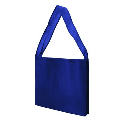 Non Woven Sling Bag - w/press studs and gusset (NWB20-NB_GL_DEC)