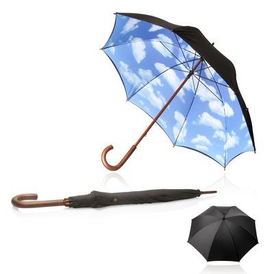 Shelta 60cm Big Blue Sky Long Umbrella (U-1444_GL_DEC)