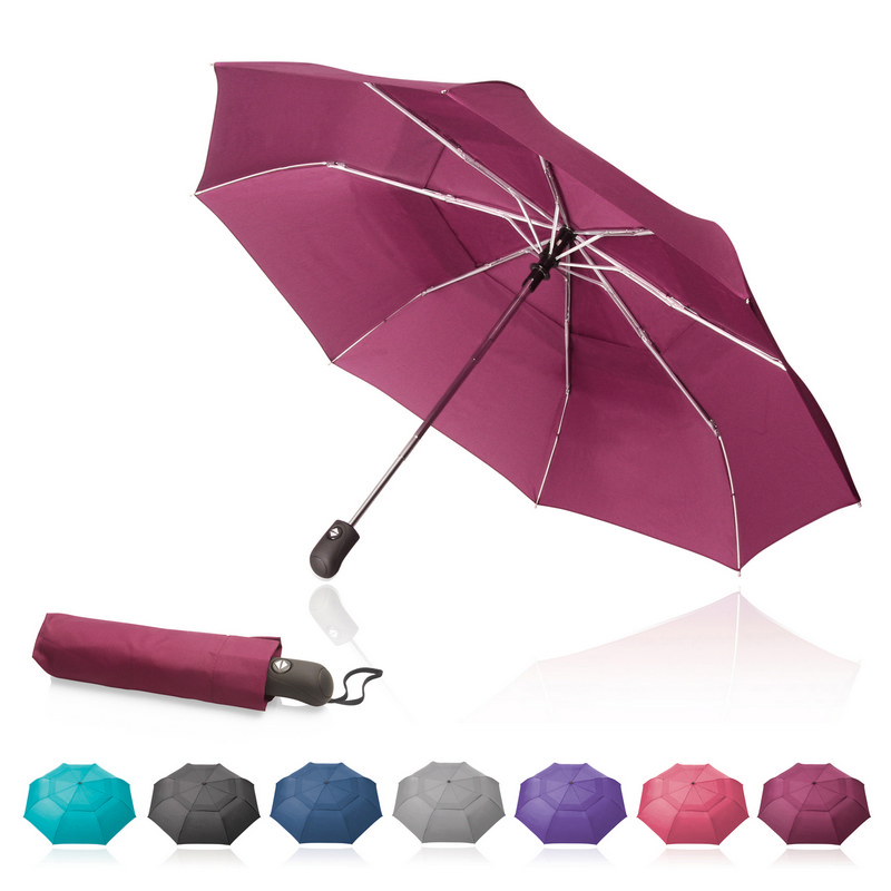 Shelta 54cm Wind Vented Folding Umbrella (U-3644_GL_DEC)