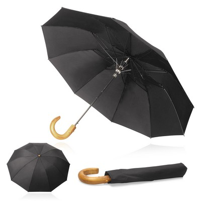Shelta 54cm 10 Rib Executive Folding Umbrella (U-6161_GL_DEC)