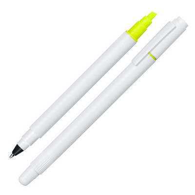 Ballpoint Pen/Hightlighter Duo (Z139A_GL_DEC)