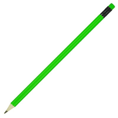 Sharpened Pencil w/Coloured Eraser (Z198F_GL_DEC)