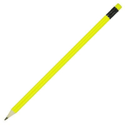 Sharpened Pencil w/Coloured Eraser (Z198G_GL_DEC)