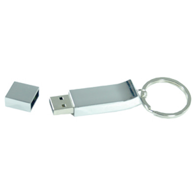 Chrome Keyring Flash Drive 16GB (AR240-16GB_PROMOITS)