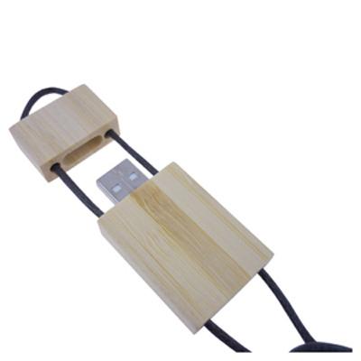 Bamboo Lanyard Flash Drive 16GB (AR263-16GB_PROMOITS)