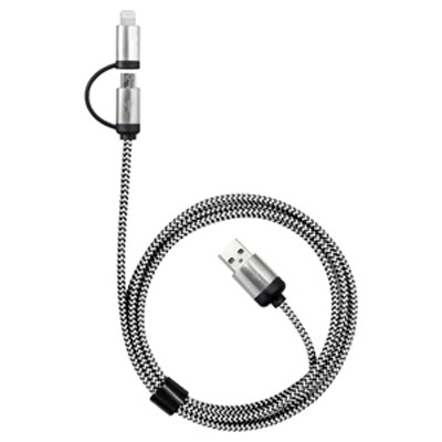 Milano 2n1 Fabric Charge Cable (AR588_PROMOITS)