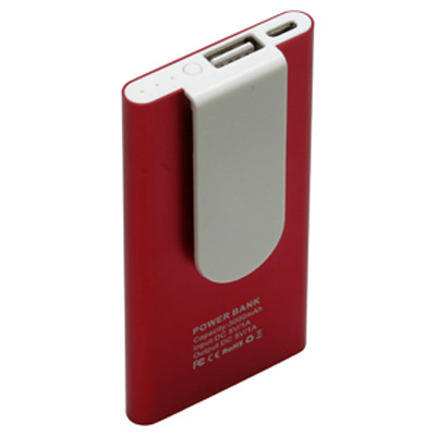 Clip Power Bank - 3000 mAh (AR655_PROMOITS)