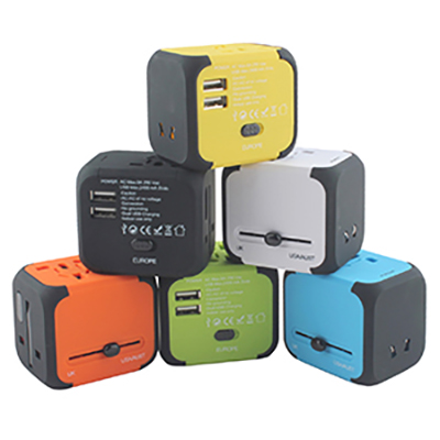Mondo USB Travel Adaptor (AR892_PROMOITS)