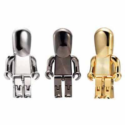 Metal USB People 16GB (USM8010-16GB_PROMOITS)