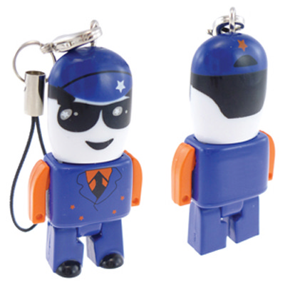 Micro USB People - Customised 16GB (USM8012C-16GB_PROMOITS)