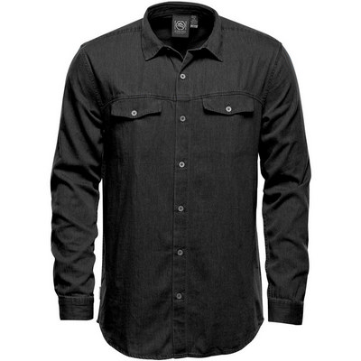 Mens Blueridge Denim Shirt (SFD-1_ST)